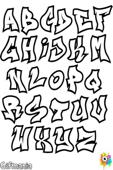 graffiti lettere alfabeto alfabeto grafite grafitti alfabeto