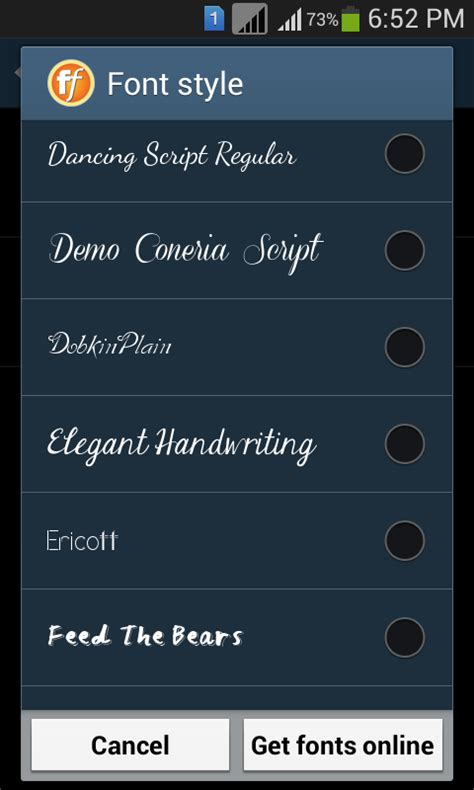 font for android stylish fonts 2 android apps on play