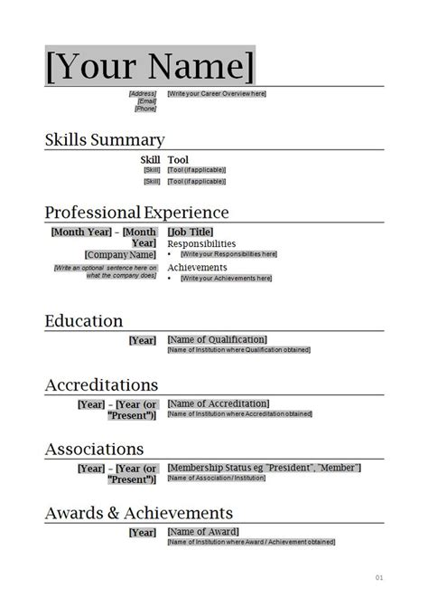 Simple Acting Resume Sle 25 Best Ideas About Acting Resume Template On