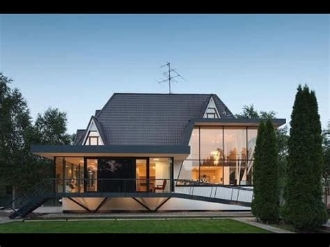 Cabin Plans by Modern European Cottage Combination Of Modern House