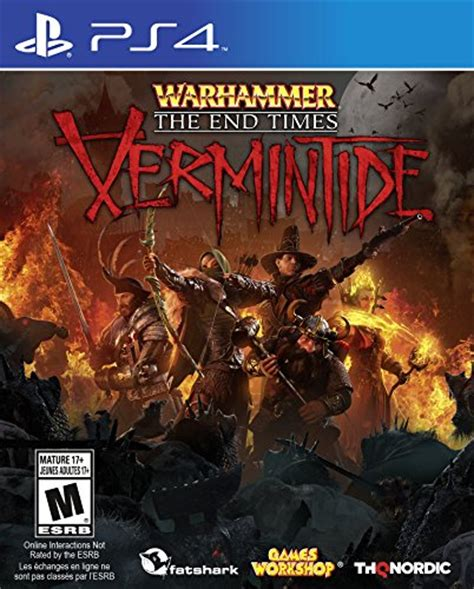 Kaset Ps 4 Warhammer The End Time Vermintide warhammer end times vermintide ps4 playstation 4