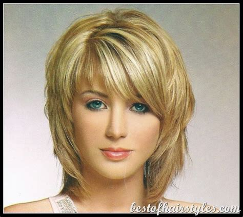 hairstyles layered medium length for 40 over 40 hairstyles with bangs cameron diaz bob