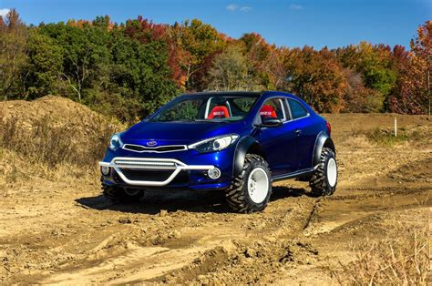 Road Kia Kia Forte Koup Mud Bogger Is A Return To The Days Of The