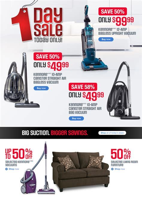 Kenmore Canister Vaccum Sears Canada Online 1 Day Sale Save Up To 58 Off Kenmore