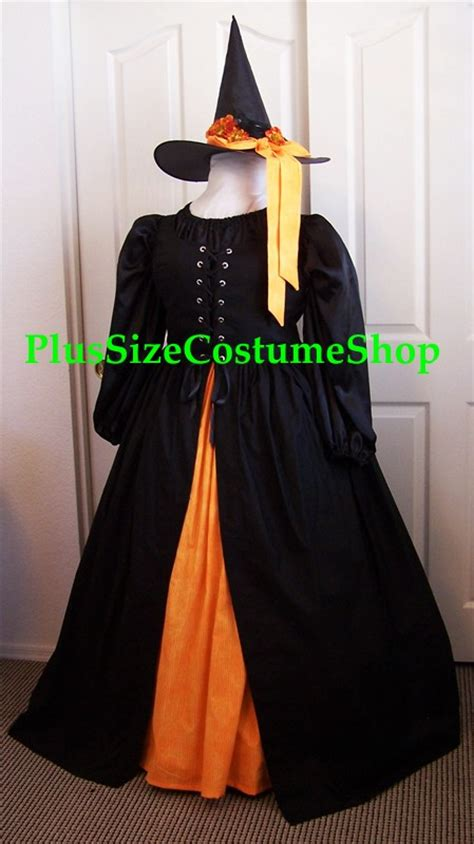 Handmade Witch Costume - harvest witch costume plus size and size