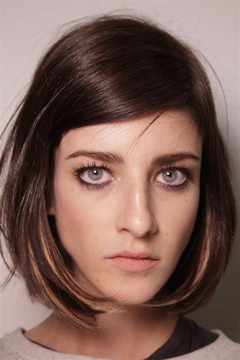 Winter Bangs 2015 | nyfw fall winter 2014 2015 hair color style trends dual