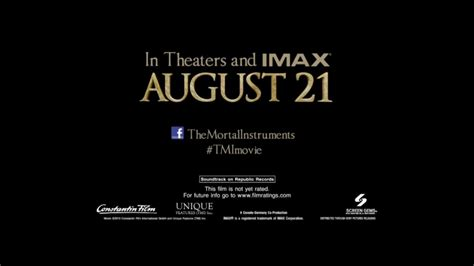cinema 21 now showing the mortal instruments city of bones confirmed to be