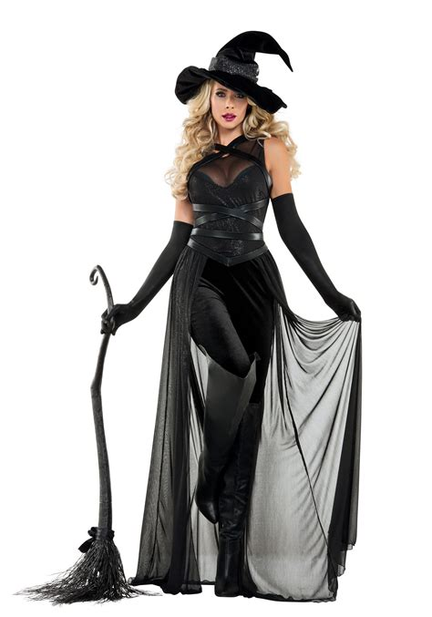 Halloween Decorations Home Made by Women S Raven Witch Costume