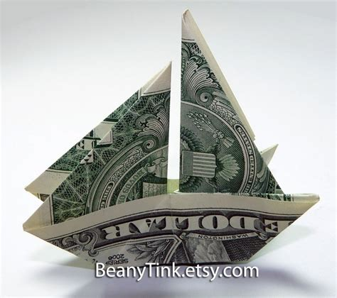 dollar origami boat chandeliers pendant lights