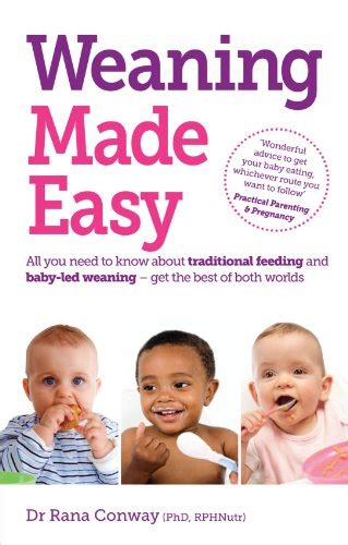 weaning the essential guide to baby s first foods cura e allevamento dei bambini panorama auto
