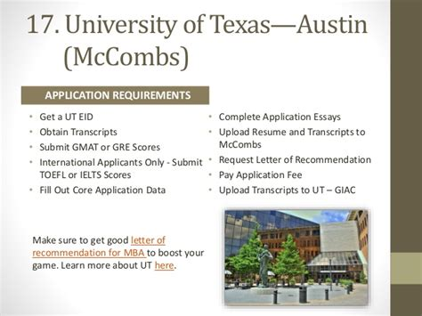 Mccombs Mba Essay Sles by Of Mba Essays