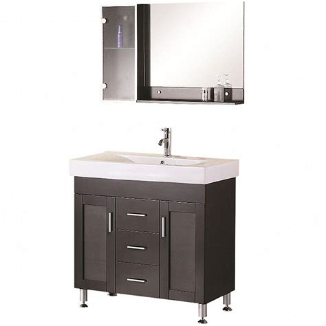 design elements vanity home depot design element miami 36 in w x 19 in d vanity in