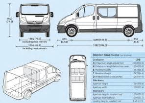 Vauxhall Movano Dimensions The Gallery For Gt Vauxhall Vivaro Dimensions