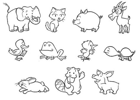 how to doodle animals how to draw animals