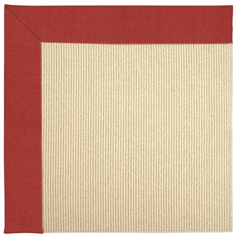 sisal rug 8 x 10 capel zoe sisal crimson 8 ft x 10 ft area rug 2009rs08001000575 the home depot