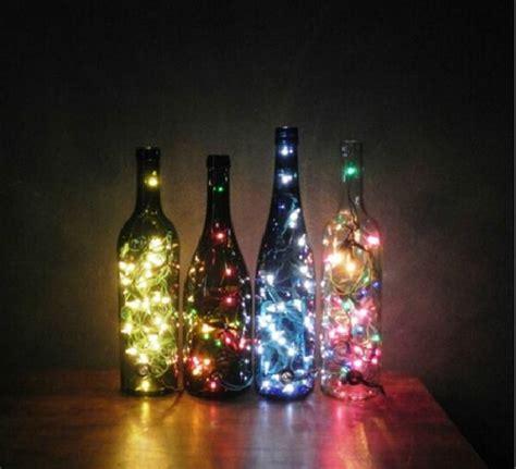 bottle lights diy diy wine bottle lights ichristmaslight