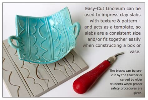 templates for clay projects linoleum impressed clay boxes downloads lino clay pdf