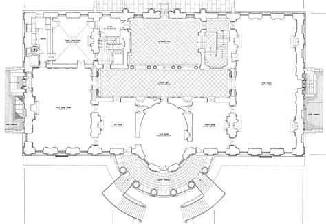 floor plan of the white house white house blueprint download free blueprint for 3d modeling