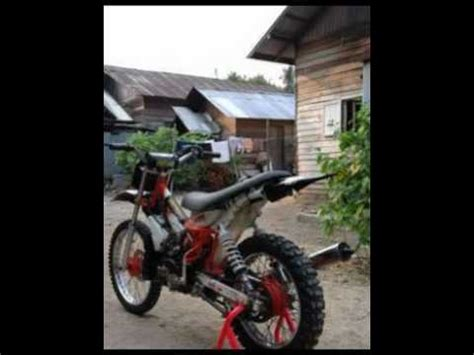 Shock Depan Rx King motor trail yamaha fizr 95 modifikasi grasstrack