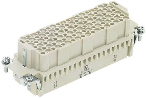 Harting Connector 24 Pin harting multipin kontakteinsatz 108 polig