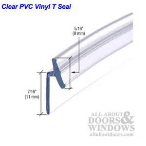 shower door trim seal frameless shower door seal shower door side seal