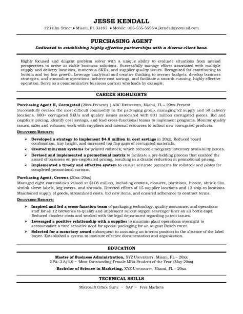 purchasing agent cover letter purchasing agent cover letter un