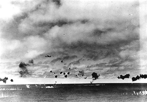 photos of japanese aircraft carriers used in attack of the battle of midway