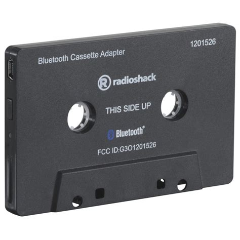 bluetooth cassette adapter buy from radioshack in radioshack 1201526