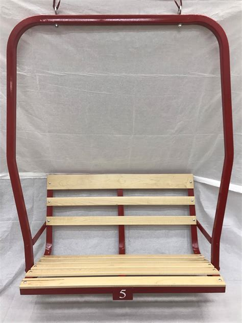snowboard bench frame ski chair lifts lawn furniture evian modern outdoor