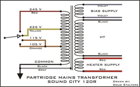 this wiring diagram was also courtesy of doug stalters l b 120 noise reduction mod