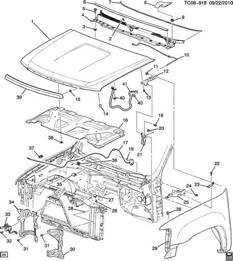 gmc yukon 2007 2012 parts manual download manuals gm 20763454 hood latch switch sensor 2007 2014 silverado sierra escalade yukon factory oem parts