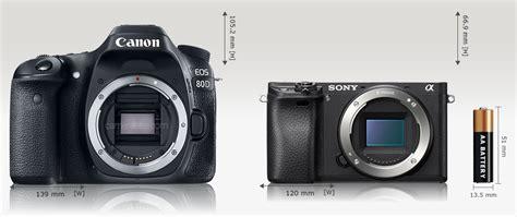 Kamera Sony A6300 Terbaru dslr vs mirrorless terbaru pilih canon 80d atau sony a6300