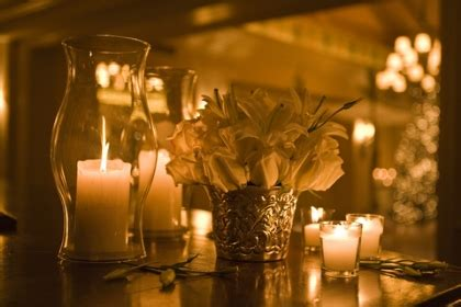 Cheap Centerpieces Romantic Decoration Wedding Candle Centerpieces On A Budget