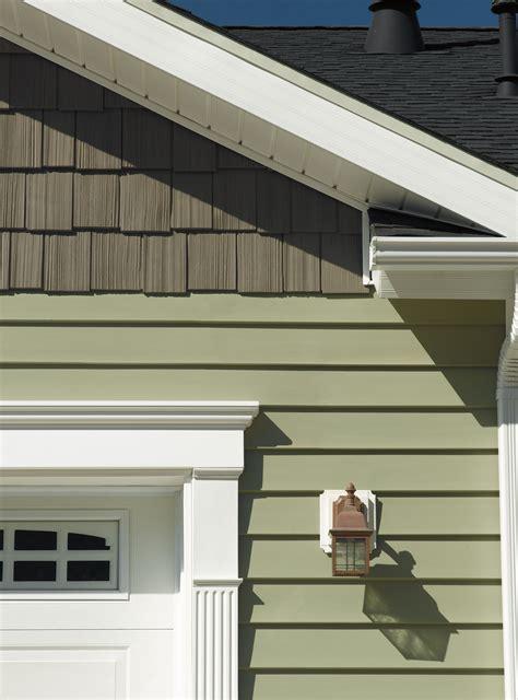 certainteed siding cedar boards green siding house