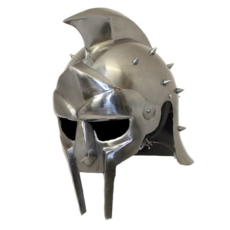 gladiator film helmet antique replica full size metal gladiator maximus arena
