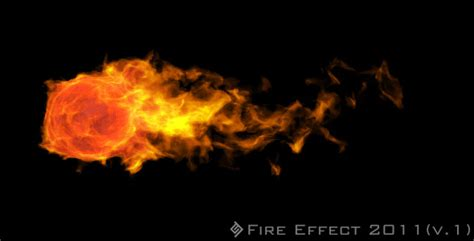 motion graphics fire effect ball 2011 version 1