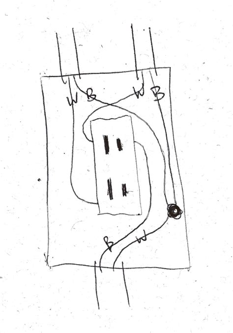 half switched outlet wiring diagram half wiring diagram