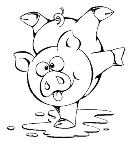 cute pig coloring pages for toddlers little people i