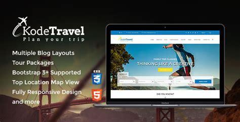 themeforest kode 20 responsive wordpress travel themes for 2015