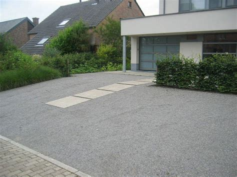 comment faire une descente de garage en beton 10 image