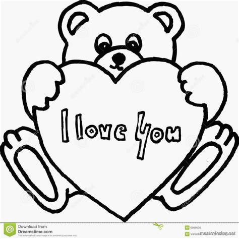 teddy bear holding a heart coloring page teddy bear and heart coloring pages many interesting cliparts