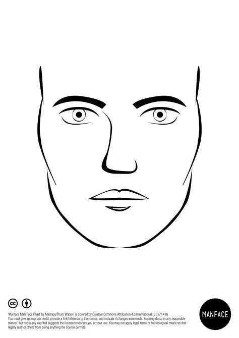 makeup face charts template the world of make up