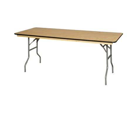 10 Foot Folding Table Banquet Folding Table 8ft X 3ft Seats 8 10 Pros All Rentals