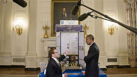 white house printing 3dp 2015 white house science fair 3d printing industry