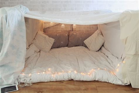 Like Down Duvet Little Winter An Indoor Fort