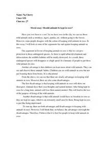 For And Against Zoos Essay by Quotes Against Zoos Quotesgram