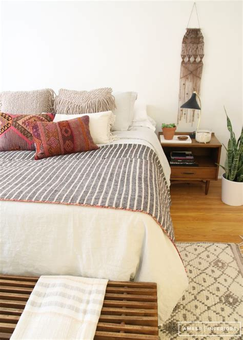 anthropologie bedrooms one room three ways with anthropologie amber interiors