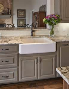 White Kitchen Countertop Ideas Kitchen Countertop Ideas White Granite Countertop Apron Sink Hardwood Flooring Home