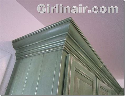 furniture with crown moulding for the home