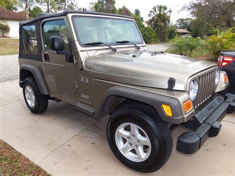 2005 Jeep Wrangler X Specs 2005 Jeep Wrangler Exterior Pictures Cargurus